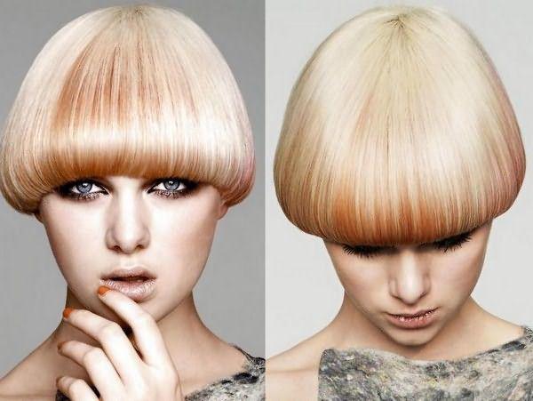 Стрижка шапочка — прекрасный способ придать объем редким и нормальным волосам любой длины
