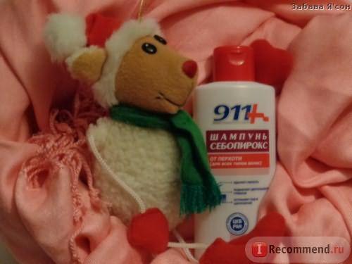 Шампунь от перхоти Твинс Тэк Себопирокс 911 фото