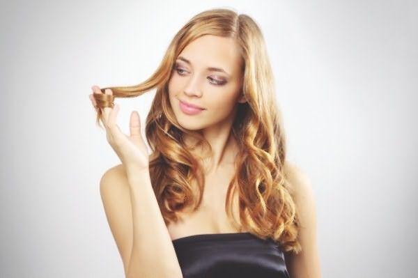 Волосы окрашенные в 3d стиле