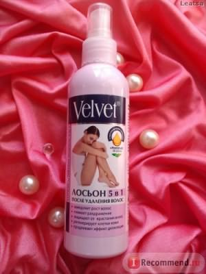 Лосьон Velvet 5 в 1 после удаления волос фото