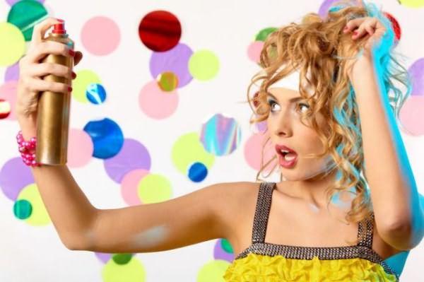 Как использовать жидкий лак для волос