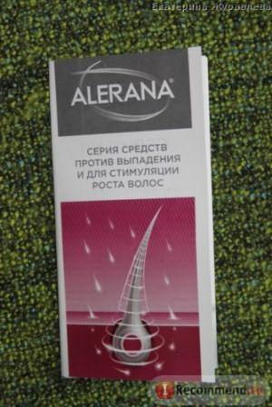 Сыворотка для волос Alerana фото