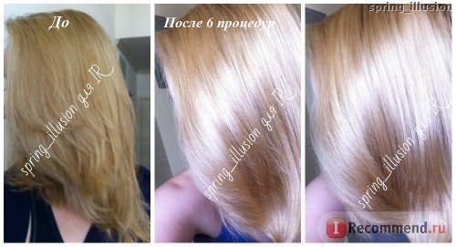 Кератиновое восстановление волос фото