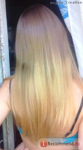 Мягкие волосы и легко расчесываются, кончики разгладились
