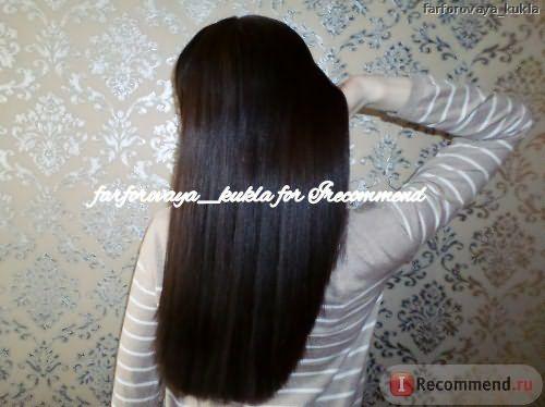 Ботокс для волос Tahe результат