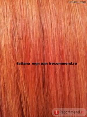 Волосы после