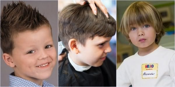 Стрижки для мальчиков