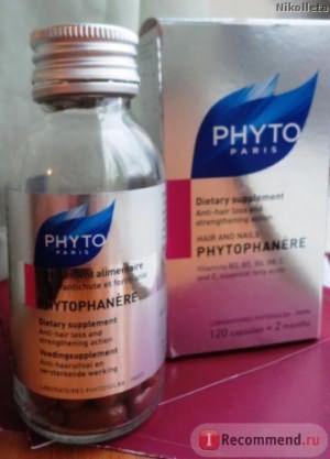 Витамины Phyto Фитофанер (PHYTOPHANERE) фото