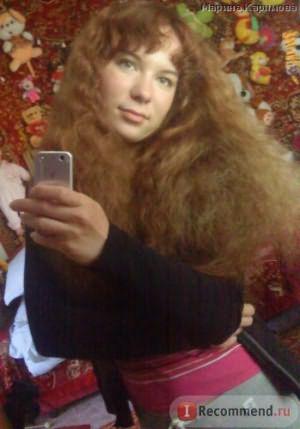 волосы до химии (расчёсанные)