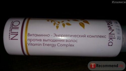 Средство от выпадения волос Ollin Professional Витаминно-Энергетический комплекс против выпадения волос Ollin BioNika фото