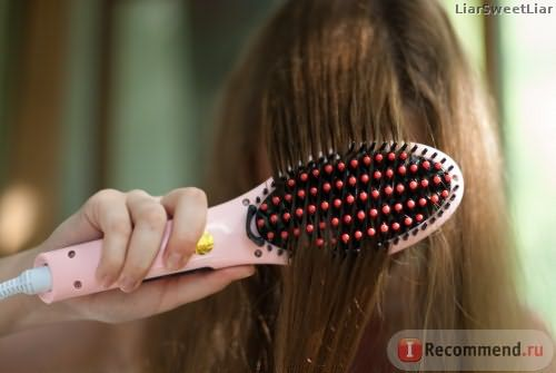 Расческа-выпрямитель Fast Hair Straightener (fast-hair-original.ru)