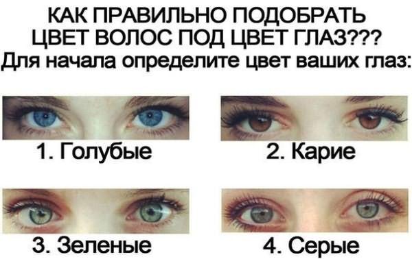 А какого цвета ваши глаза?