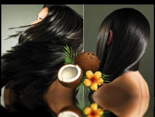 кокосовое масло для волос как использовать на влажные волосы, отзывы