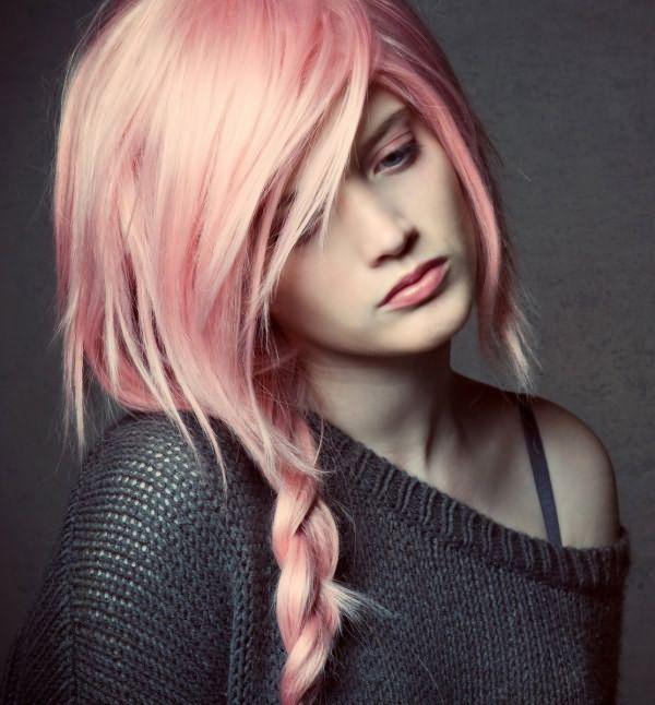 Тонированные волосы