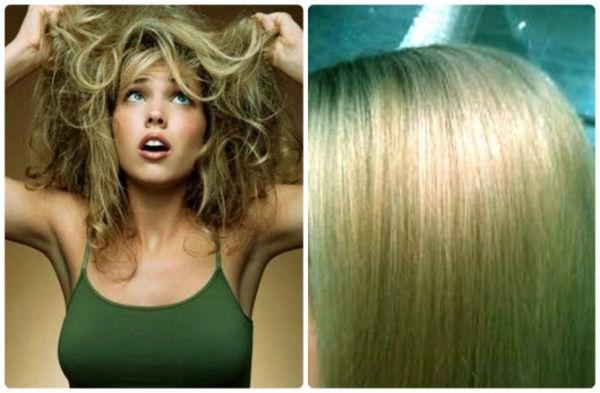 Зеленый оттенок на волосах после окрашивания