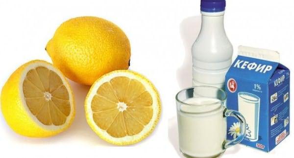 И лимон, и кефир обладают осветляющими качествами, а в таком тандеме они усиливаются.