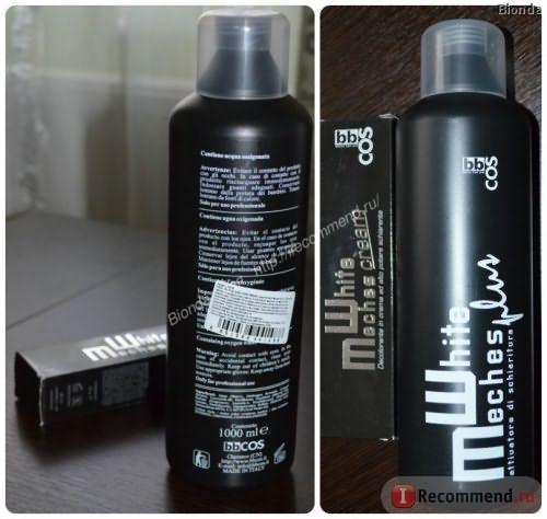 Осветлитель для волос BBCOS White Meches Bleaching фото