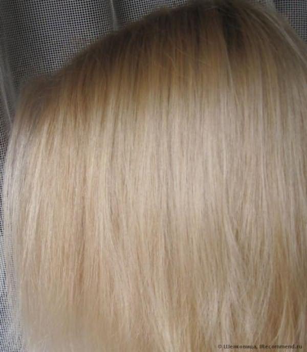 Сухие волосы после