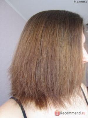 После первого мытья волос