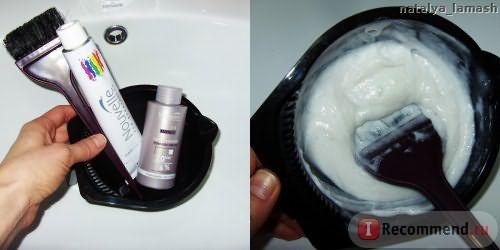 Крем-краска для волос Nouvelle Hair Color и окислительная эмульсия Nouvelle Cream Peroxide 6%