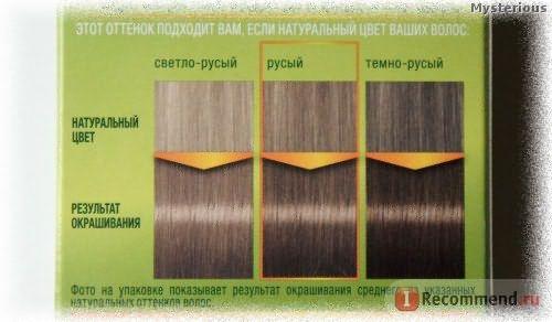 Стойкая крем-краска для волос Schwarzkopf Palette Фитолиния - 400 средне-русый