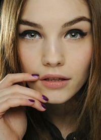 макияж для зеленых глаз и русых волос 2