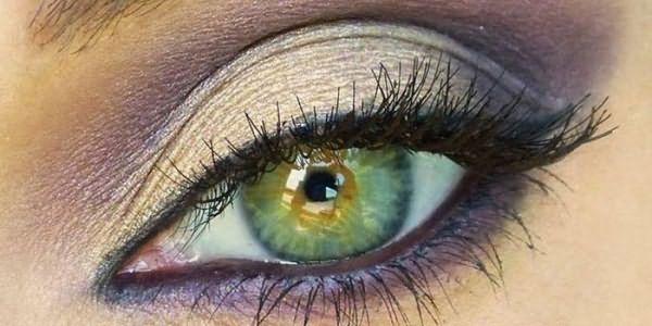 Накрашенный глаз