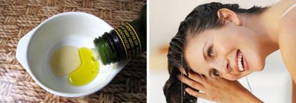 Масло оливок для реанимации волос