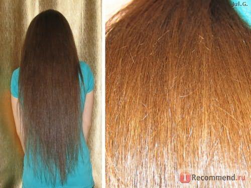 чистые волосы до нанесения средства