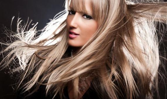 Завораживающий мультиколорный блонд