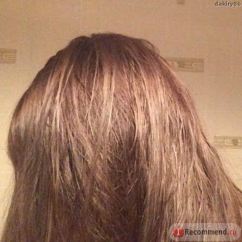 Внимание! Освещение искусственное.Волосы почти высохли.