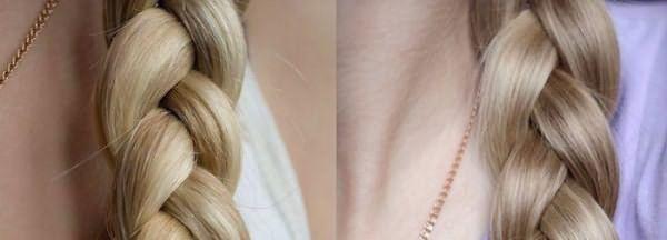 Фото до и после окрашивания светлых волос