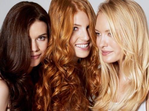 Оттеночные средства подходят для любого цвета волос