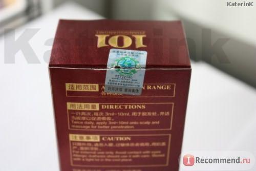 Средство от выпадения волос Чжангуан 101 B фото
