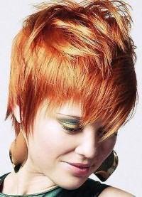 Стрижка гаврош на средние волосы 1
