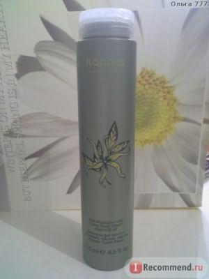 Шампунь Kapous для волос с эфирным маслом цветка дерева иланг-иланг фото