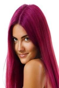 Розовые волосы 4