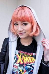 Розовые волосы 5
