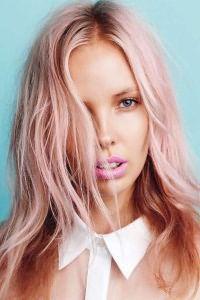 Розовые волосы 6