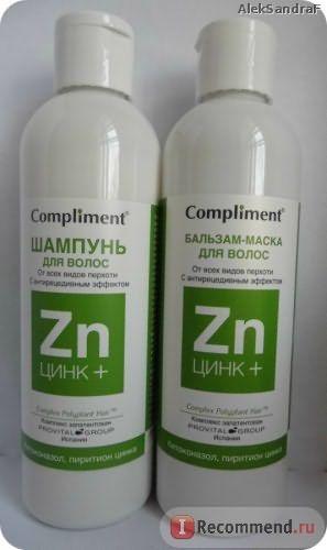 Шампунь от перхоти Compliment Zn+