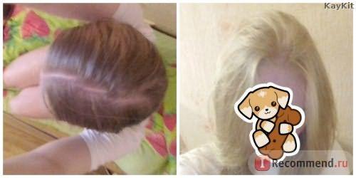 Как краска повлияла на корни волос
