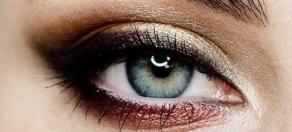 пошаговый макияж для голубых глаз 9