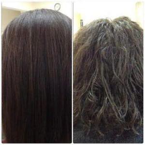 биозавивка на средние волосы крупные локоны