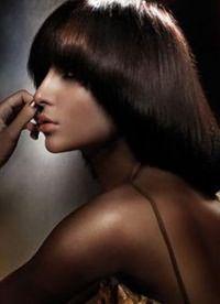 Стрижка паж на средние волосы 1