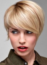 Прическа шапочка на короткие волосы 6