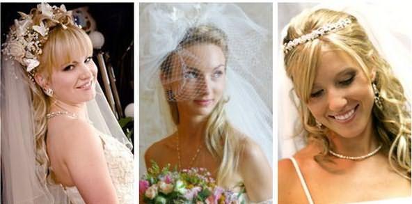 Свадебные аксессуары к волосам