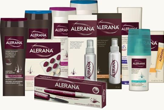 алерана шампунь против выпадения волос