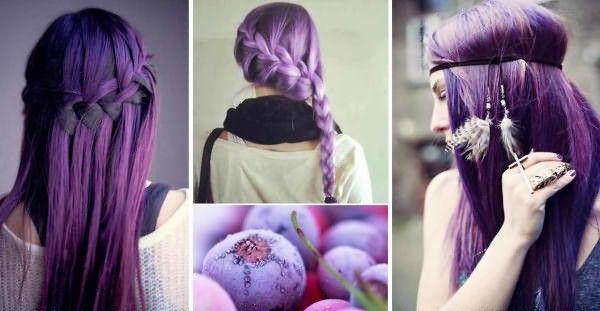 Цветное мелирование на русые длинные волосы – решение для смелых натур