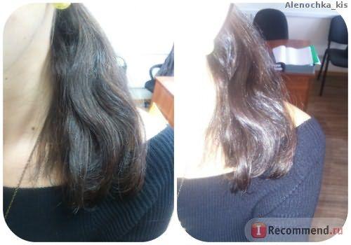Волосы высешены без помощью фена