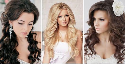 Девушки с волнистыми волосами